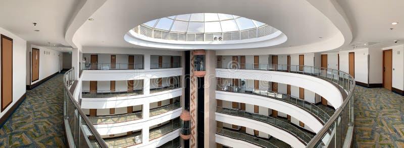 Wnętrze hotelowa Dan panorama w Eilat fotografia stock