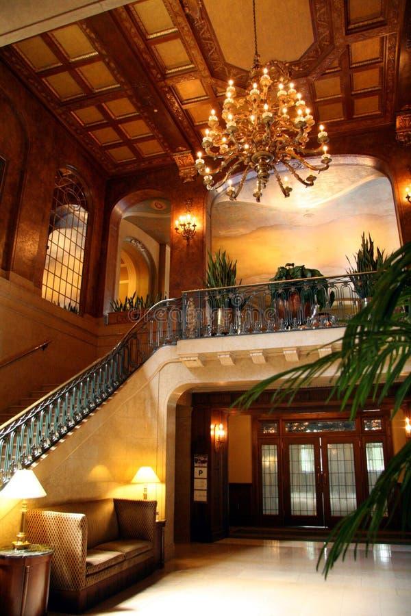 wnętrze hotelowy lobby zdjęcie royalty free