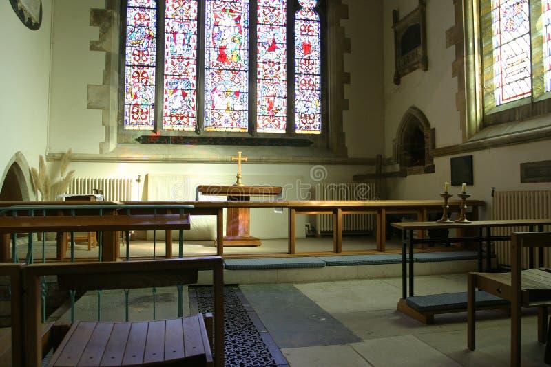wnętrze kościoła obraz royalty free