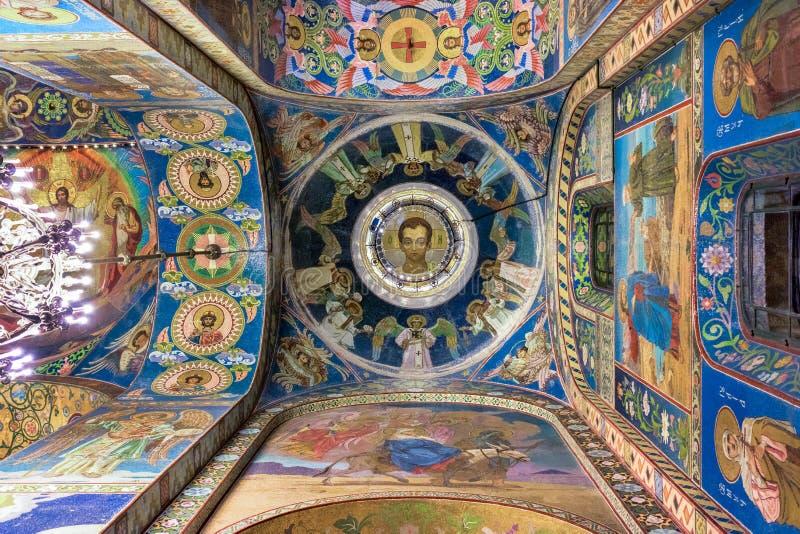 wnętrze kościoła zdjęcia stock