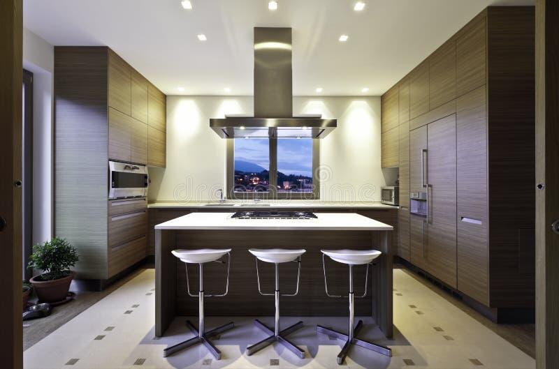 Wnętrze, kuchnia fotografia royalty free