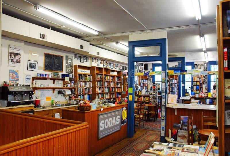 Wnętrze Kwadratowe książki, Oxford, Mississippi zdjęcie royalty free