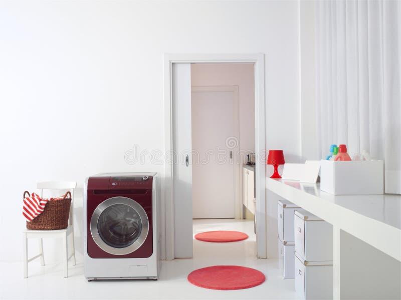 Wnętrze luksusowy pralniany pokój l zdjęcia royalty free
