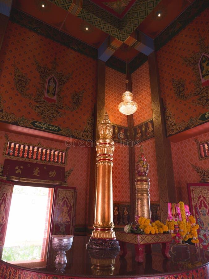 Wnętrze miasto filaru świątynia fotografia royalty free