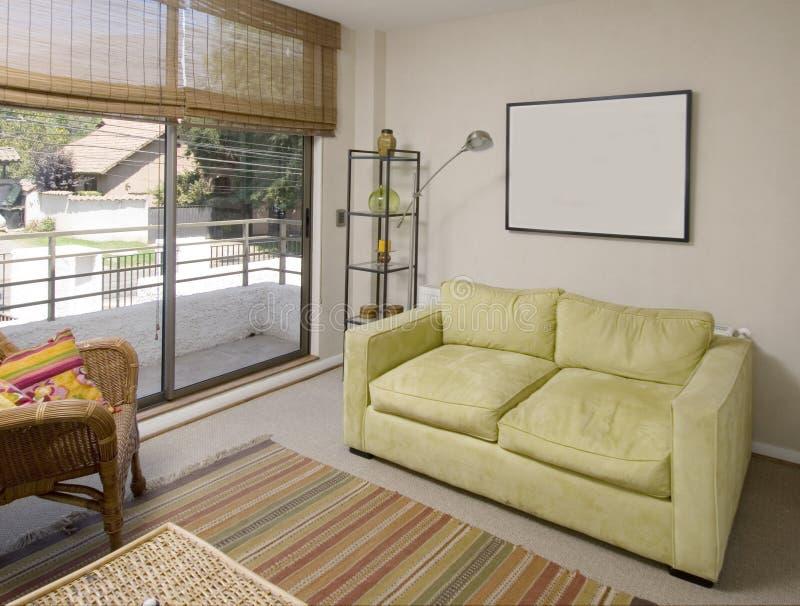 wnętrze nowoczesne mieszkania obrazy stock