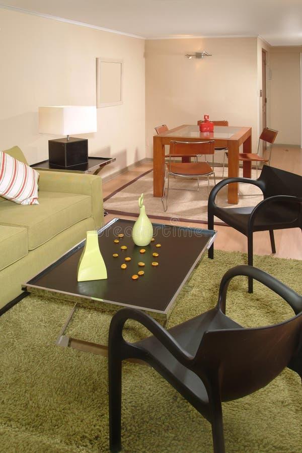 wnętrze nowoczesne mieszkania obraz stock