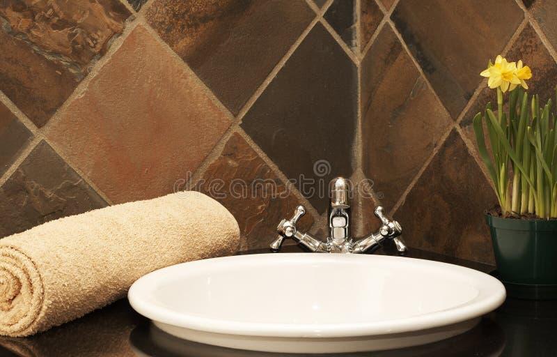 wnętrze nowoczesne toalety obrazy stock