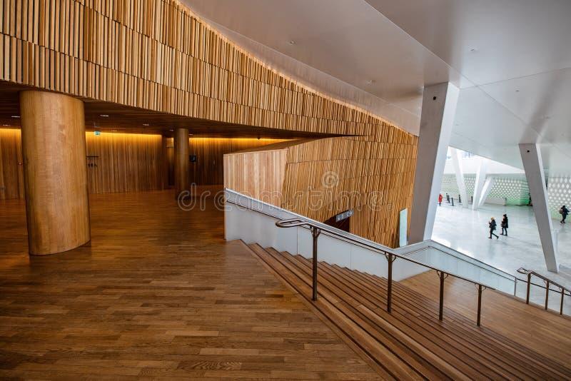 wnętrze nowoczesnej architektury obraz stock