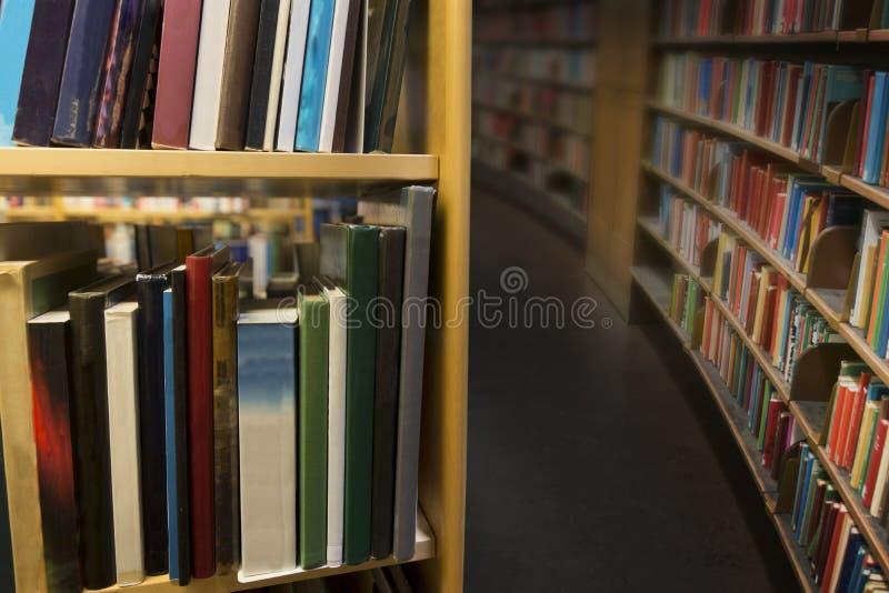 Wnętrze od biblioteki publicznej obraz royalty free