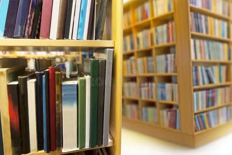 Wnętrze od biblioteki publicznej fotografia royalty free