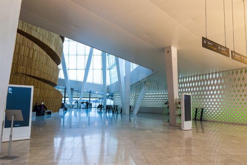 Wnętrze Oslo opera, Norwegia obrazy royalty free