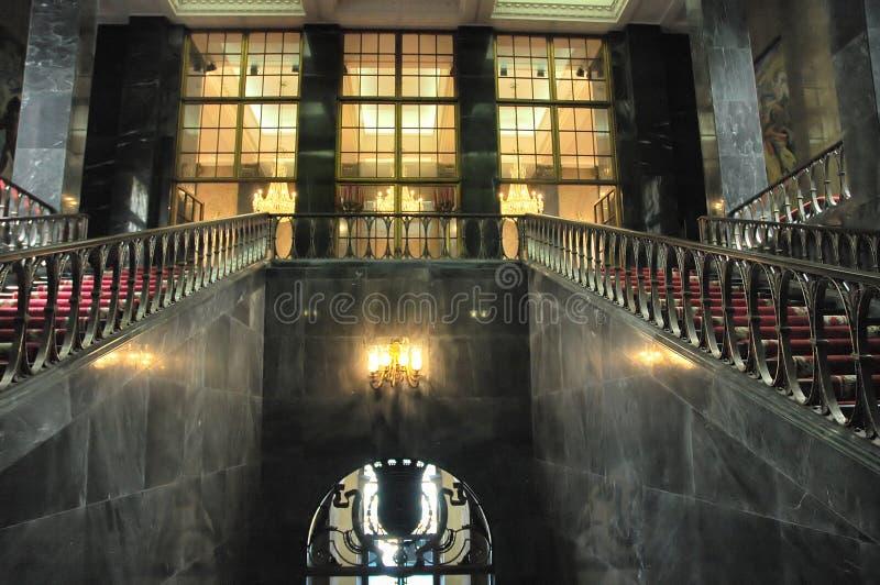 wnętrze pałacu fotografia royalty free