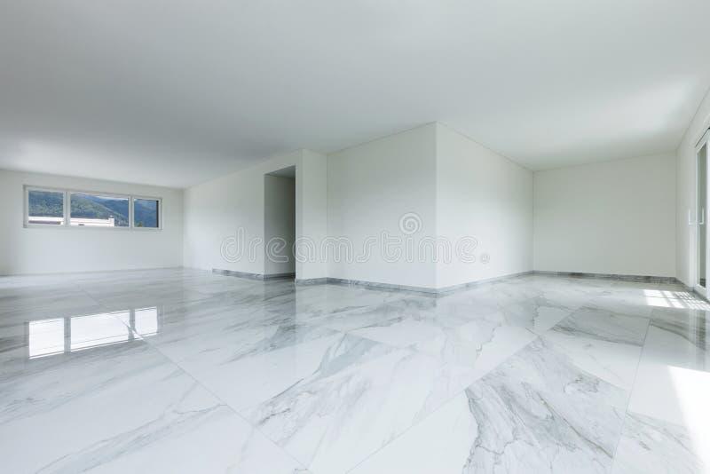 Wnętrze pusty mieszkanie obraz stock