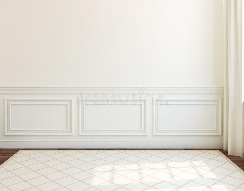 wnętrze pusty pokój świadczenia 3 d royalty ilustracja