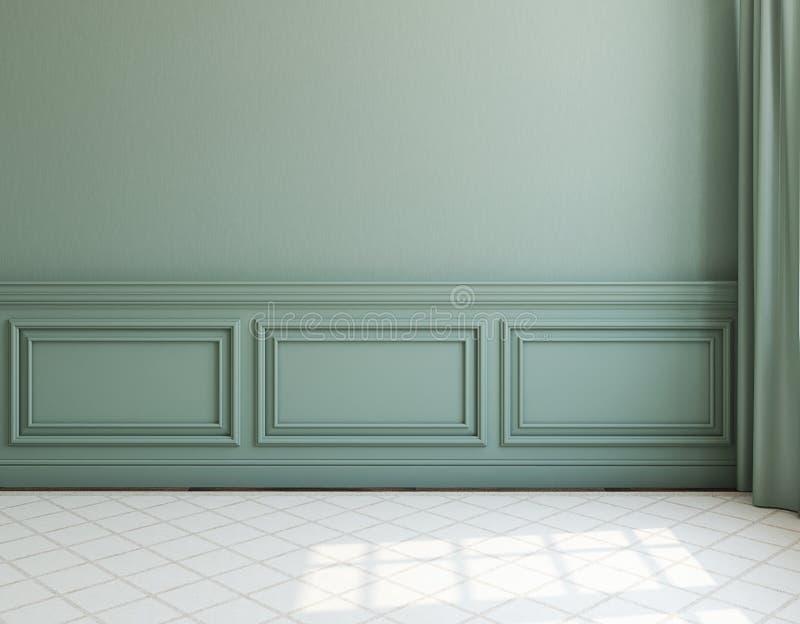 wnętrze pusty pokój świadczenia 3 d ilustracja wektor
