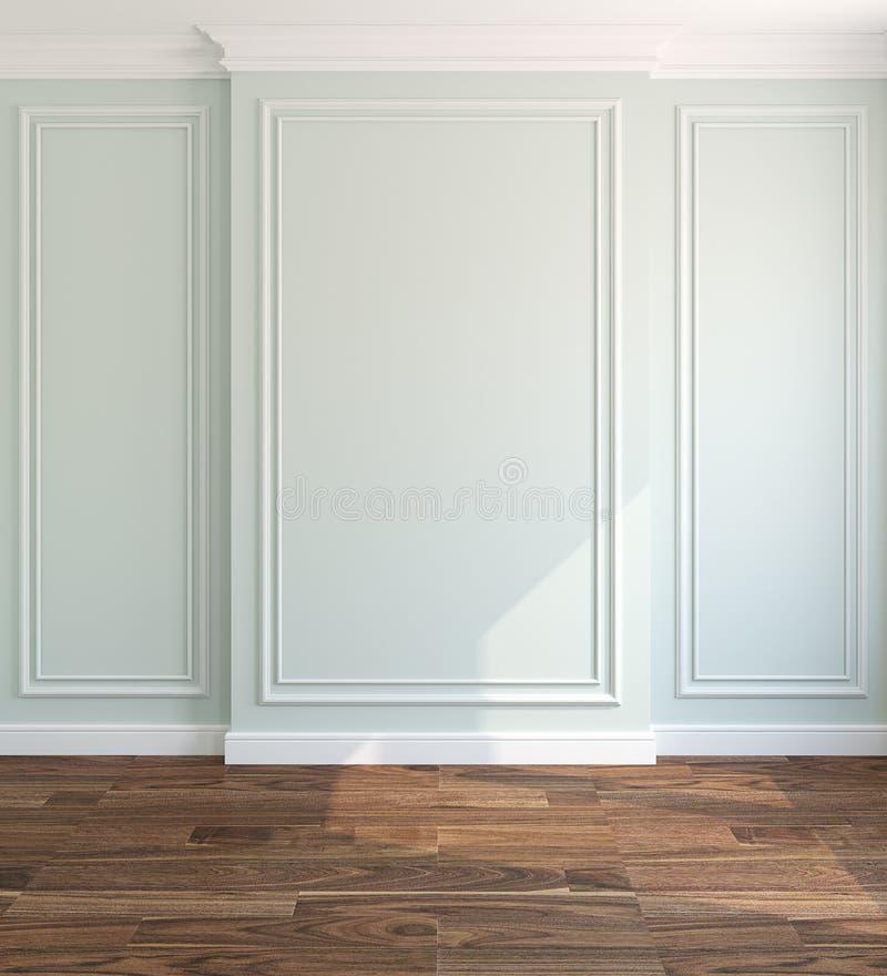 Wnętrze. Pusty pokój ilustracja wektor