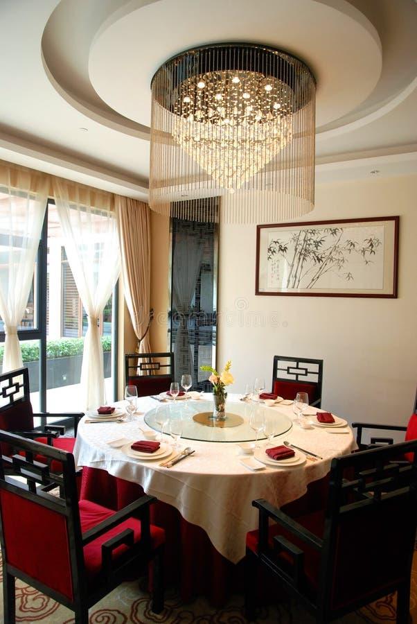 Wnętrze restauracja zdjęcie royalty free