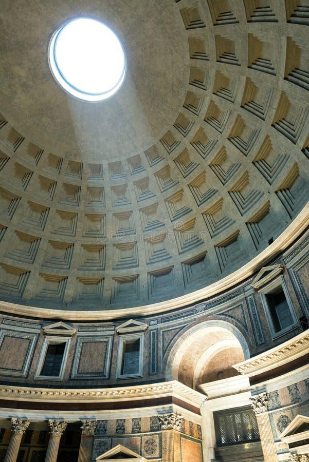 Wnętrze Rzym panteon zdjęcia stock