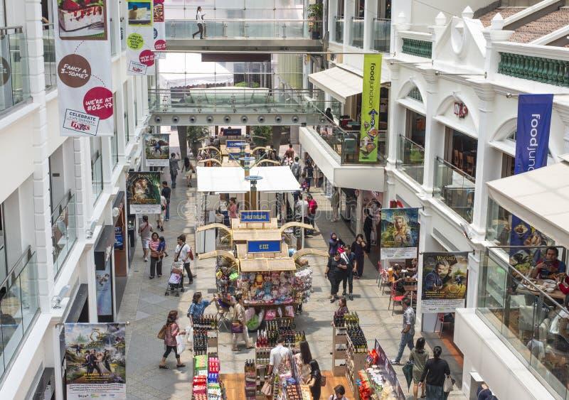 Bugis zakupy centrum handlowe obrazy stock