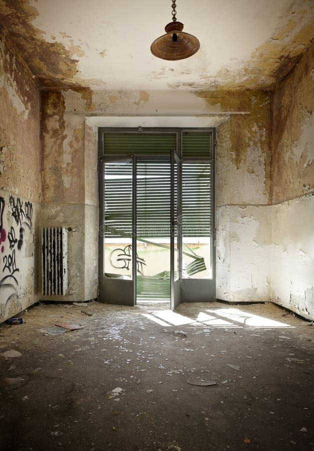 Wnętrze stary dom zdjęcia stock