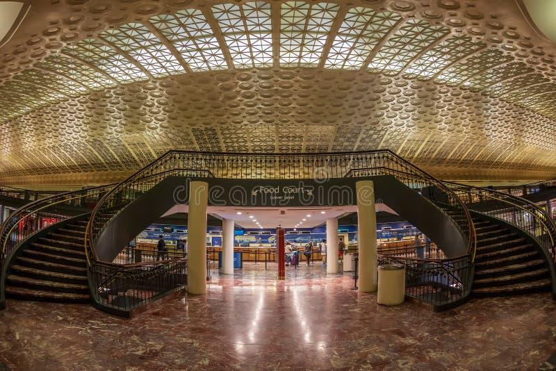 Wnętrze zjednoczenie stacja w washington dc, usa zdjęcie royalty free
