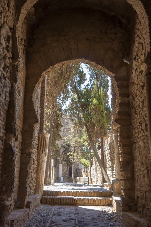 Download Wnętrze Alcazaba Malaga, Hiszpania Obraz Stock - Obraz złożonej z city, cumuje: 41954243