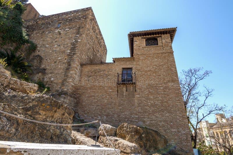 Download Wnętrze Alcazaba Malaga, Hiszpania Obraz Stock - Obraz złożonej z arabel, moorish: 41954705