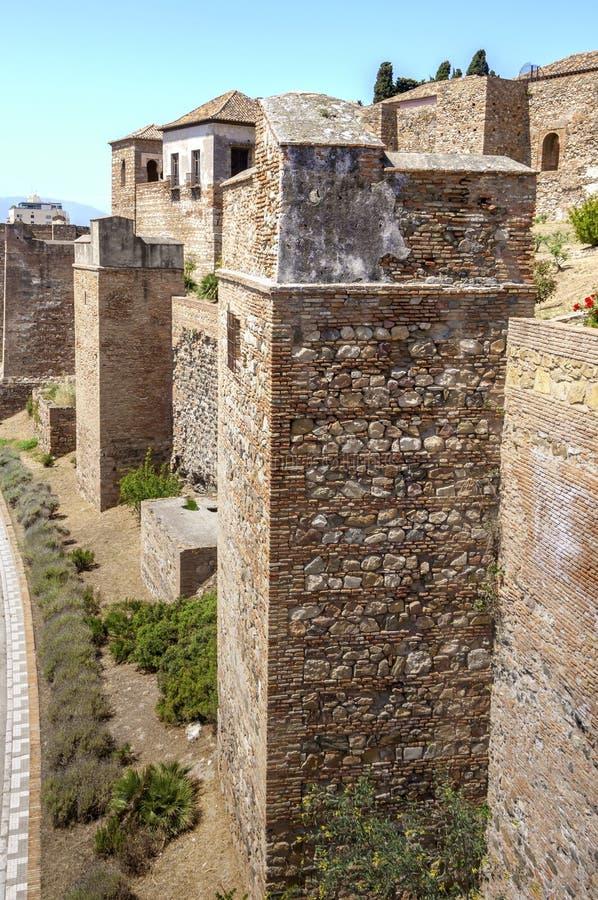 Download Wnętrze Alcazaba Malaga, Hiszpania Obraz Stock - Obraz złożonej z europejczycy, arabel: 41954751