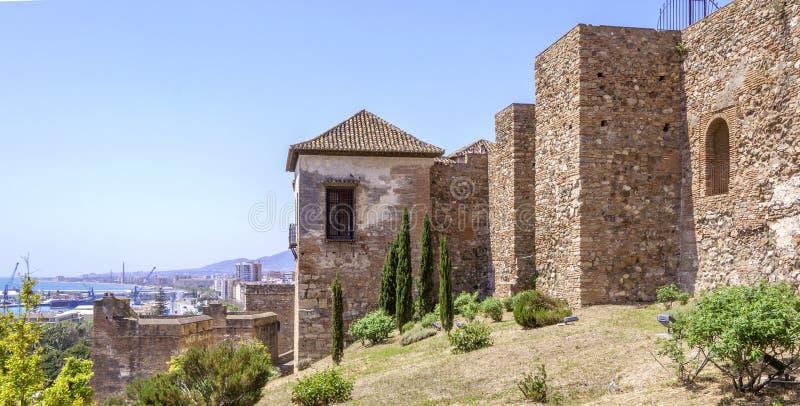Download Wnętrze Alcazaba Malaga, Hiszpania Zdjęcie Stock - Obraz złożonej z dziejowy, cytadele: 41954774