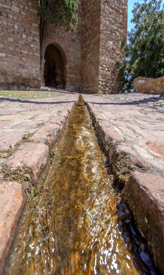Download Wnętrze Alcazaba Malaga, Hiszpania Obraz Stock - Obraz złożonej z stary, city: 41954971