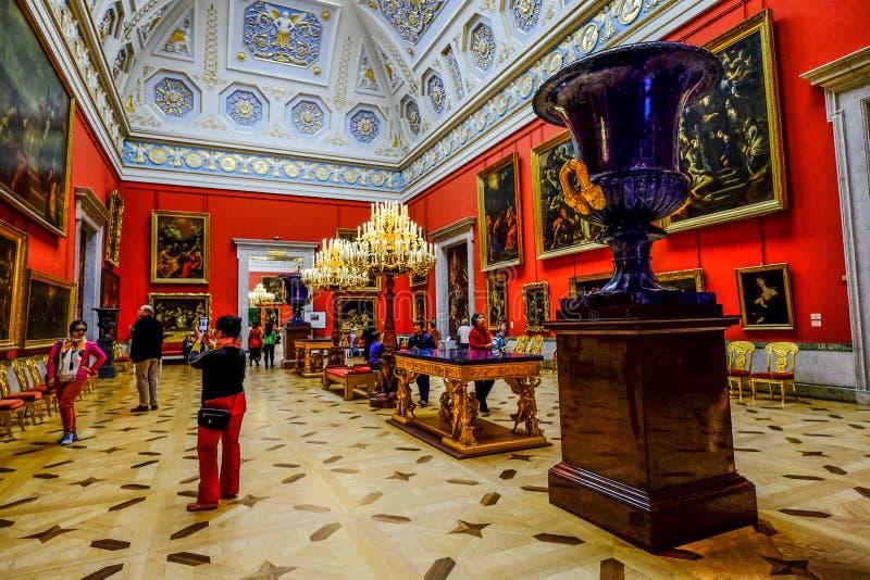 Wn?trze eremu muzeum obrazy royalty free