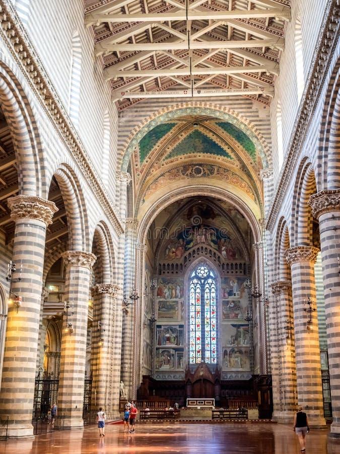 Download Wnętrze Orvieto Katedra W Umbria Zdjęcie Editorial - Obraz złożonej z włoch, mozaika: 57650591