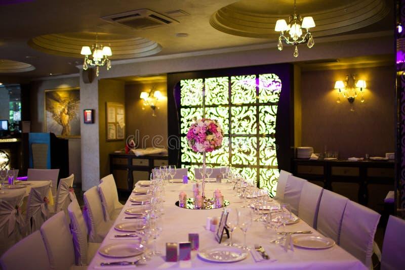 Wnętrze Restauracja Fotografia Royalty Free