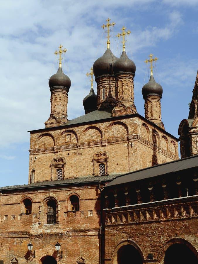 Wniebowzięcia Krutitsy Kościelny Patriarchalny metochion zdjęcie royalty free