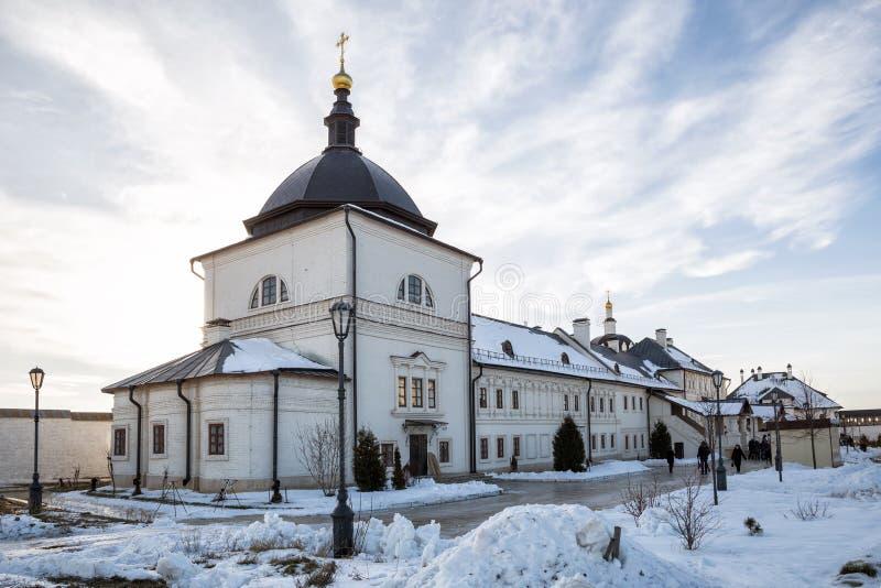 Wniebowzięcie monaster w Sviyazhsk, Rosja zdjęcie royalty free