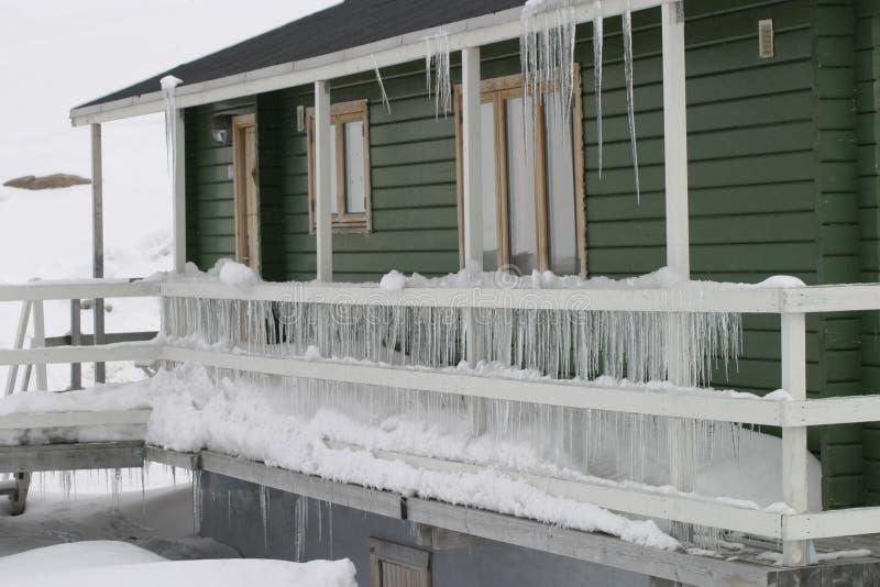 Wnter北部格陵兰 免版税库存照片