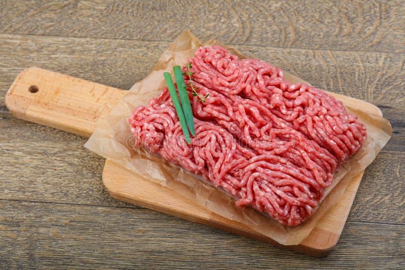 wołowina minced zdjęcia stock