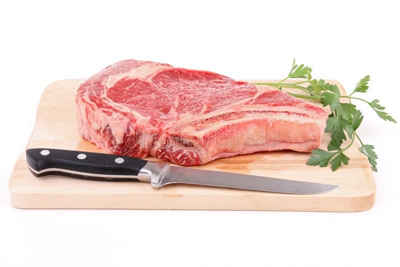 wołowina odizolowywający ziobro obraz royalty free