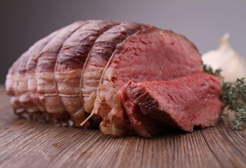 wołowina piec fotografia stock
