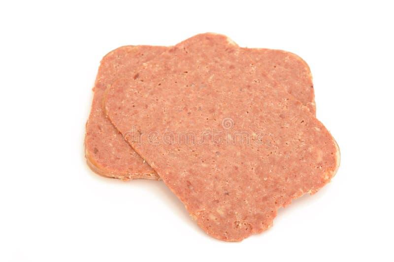 Wołowina plasterki zdjęcia stock