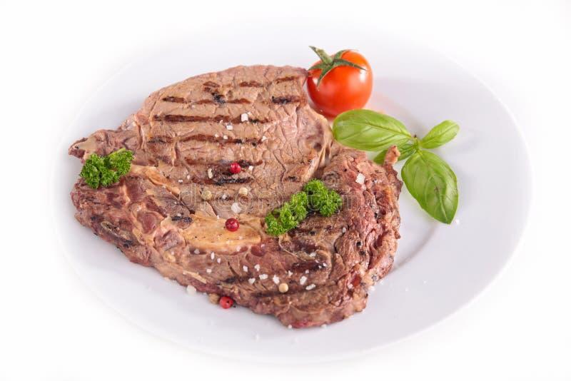 wołowina z grilla obrazy royalty free