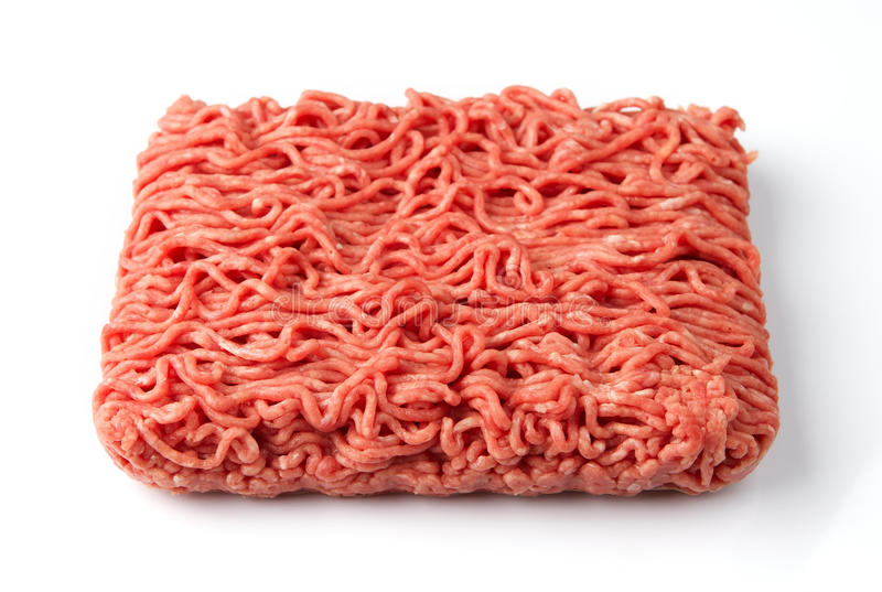 wołowiny świeżego mięsa świeży surowy obraz stock