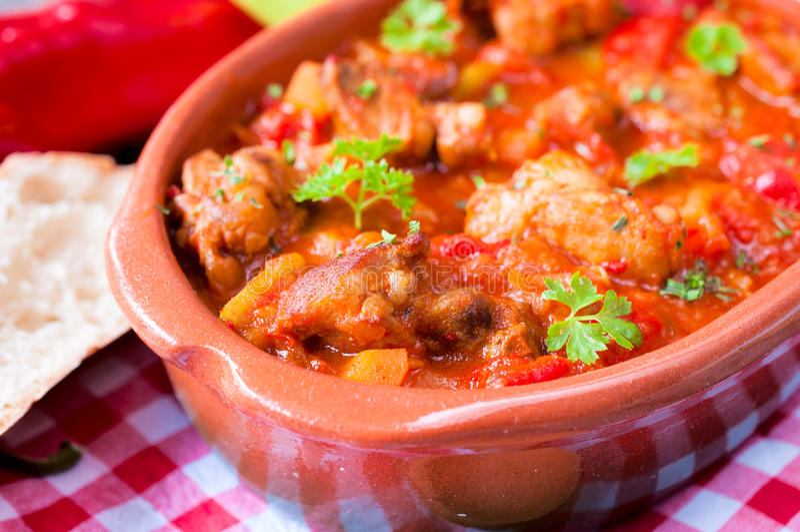 Wołowiny hungarian goulash obrazy stock