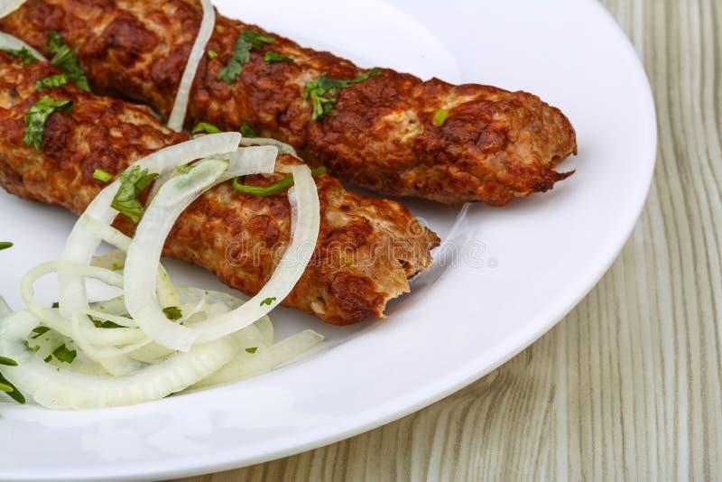 wołowiny kebab fotografia royalty free
