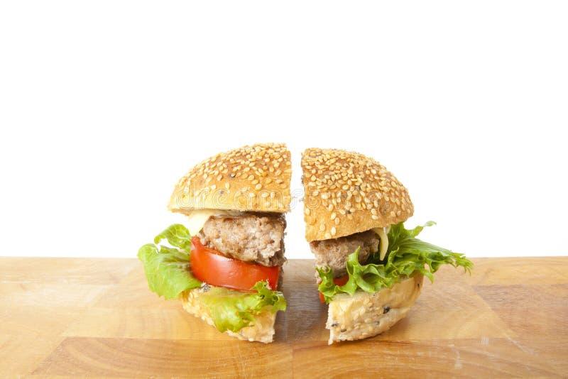 wołowiny połówka obrazy stock
