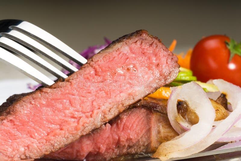 wołowiny ribeye stek zdjęcia stock
