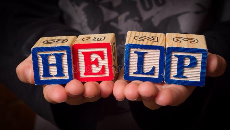 Download Wołanie o pomoc zdjęcie stock. Obraz złożonej z disadvantaged - 27129514