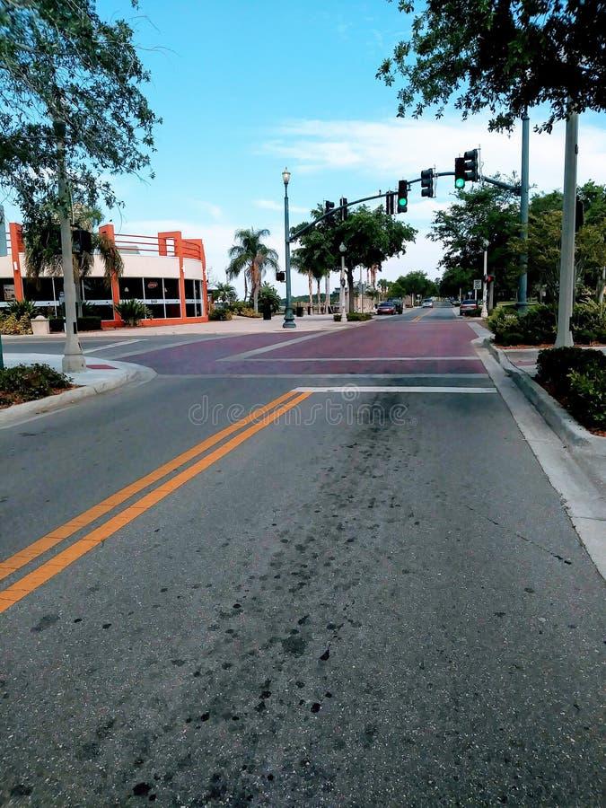 Wo die Straße Sie führt stockfotografie