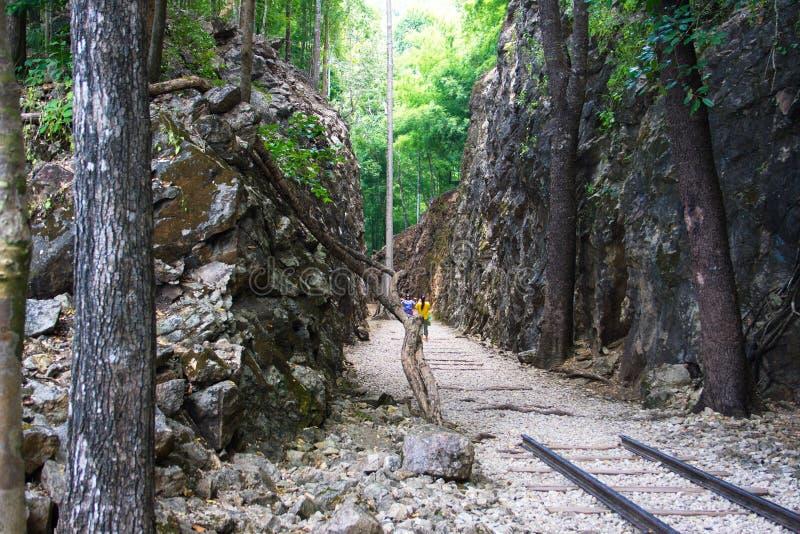 WO.II-eind van spoormanier stock afbeeldingen