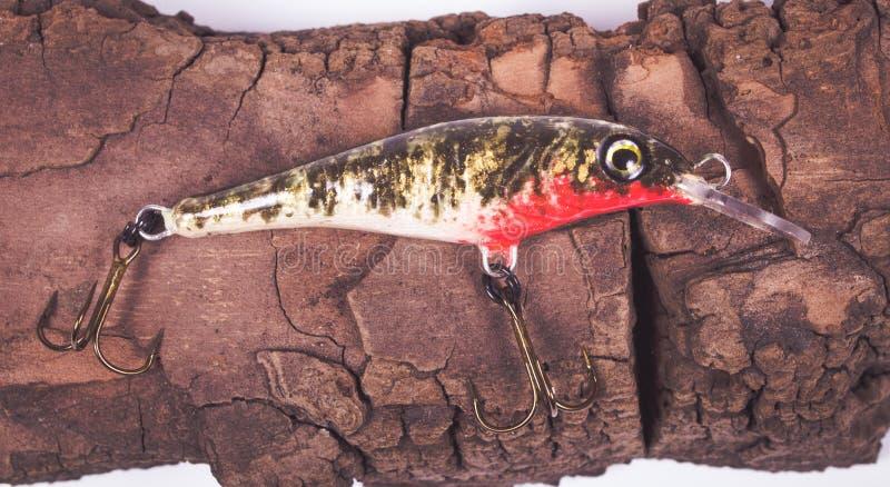 Wobbler - pesca hecha a mano del cebo foto de archivo libre de regalías